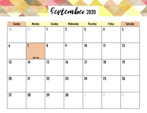 Editable 2020 Calendar with Holidays Printable - Gogo Mama