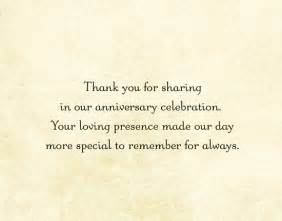 60th anniversary card messages 50th wedding anniversary thank you cards gold custom