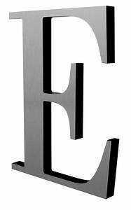 metal on acrylic letters With black letter sign