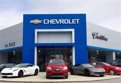 marine chevrolet cadillac car dealership  jacksonville