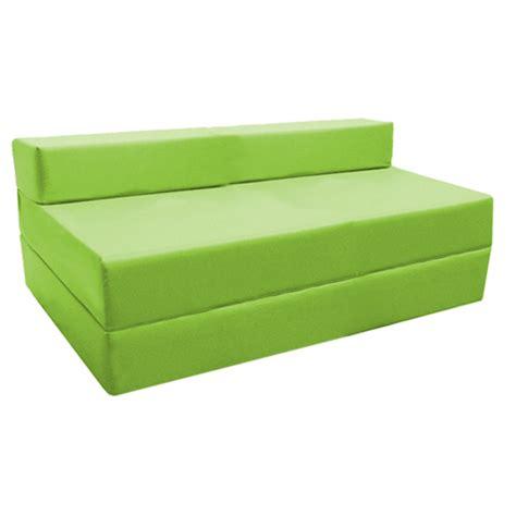canap d pliable canapé chauffeuse pliable citron vert studio etudiante