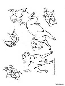 Related Post For Two Puppies Coloring Pages