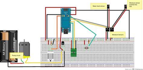 automatically watering  plants sensors  pi webhooks