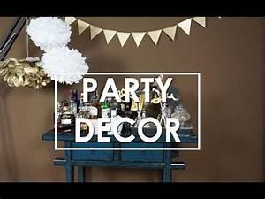 Party Deko 24 : einfache diy party deko ideen fotoaccessoires pompoms wimpelgirlande eileena ley ~ Orissabook.com Haus und Dekorationen