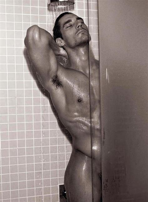 mike kagee fashion david gandy the - Guys In The Shower