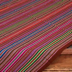 Decke Abhängen Mit Stoff : aguayo decke aus peru mit tradionellem muster braun ~ Bigdaddyawards.com Haus und Dekorationen