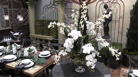 Black And Decor - a black white wedding trees n trends unique home