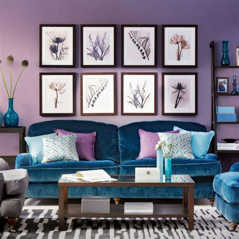 Purple Grey And Turquoise Living Room by Moderne Zimmerfarben Ideen In 150 Unikalen Fotos