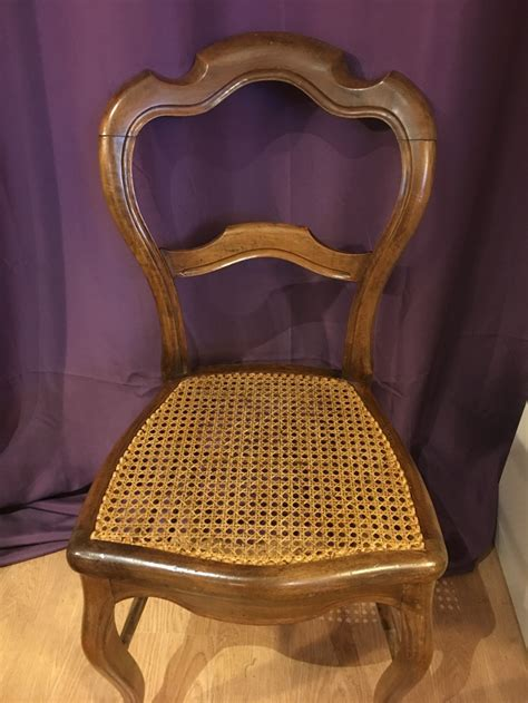 refaire le cannage d une chaise cannage chaise nîmes