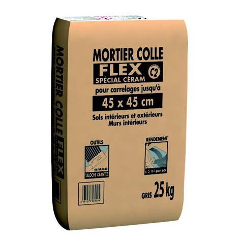 mortier colle exterieur leroy merlin mortier colle flex sp 233 cial c 233 ram pour carrelage jusqu 224 45 x 45 cm gris 25 kg leroy merlin