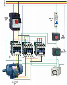 Auto Star Delta Connection For 3 Phase Asd