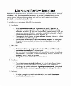 Literature review format sample - dailynewsreport970.web ...