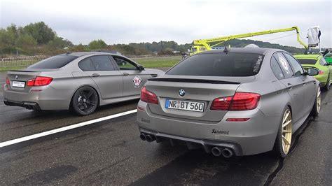 Bmw M5 Vs by 840hp Bmw M5 F10 Vs 980hp Audi Rs6 Avant Vs 750hp Nissan