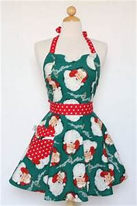 Christmas Aprons on Pinterest