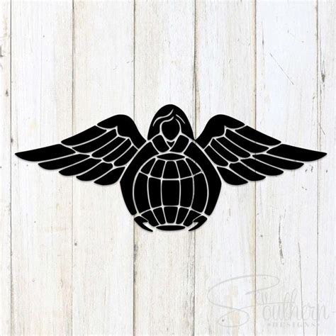 pararescue guardian angel decal sew southern designs