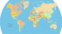 Vector World Map: Version 2.1