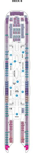 symphony of the seas deck plans cruiseind
