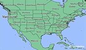 Where is Vancouver, WA? / Vancouver, Washington Map ...