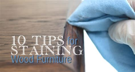 tips  staining wood furniture salvaged inspirations