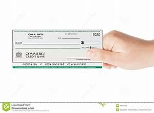 Chèque De Banque La Poste : ch que de banque holded la main illustration stock image 48397965 ~ Medecine-chirurgie-esthetiques.com Avis de Voitures