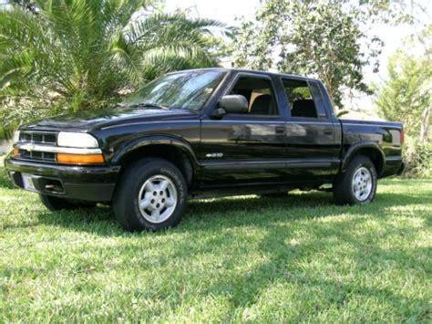 chevy 4 door truck for sell used 2003 chevrolet s10 ls 4x4 crew cab 4 door