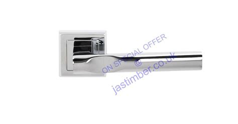 Status Kansas Polished Chrome Door Handle