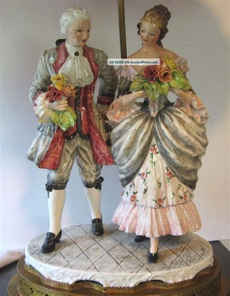 antique porcelain figurine table ls 17 best images about porcelain and pottery on pinterest