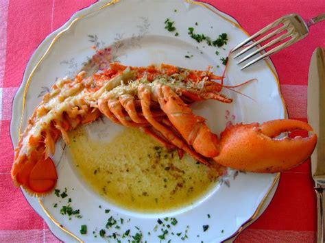 estragon cuisine homards grilles au beurre d estragon pour 4 personnes