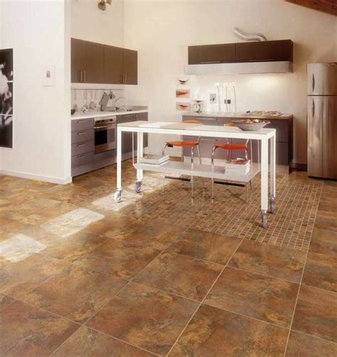 porcelain floor tile in kitchen modern kitchen other metro by tiles unlimited inc