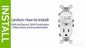 Leviton Presents  How To Install A Combination Device With A Three