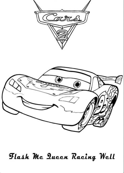 Kleurplaten Cars Bliksem Mcqueen by Kleurplaat Bliksem Mcqueen 3m Opticlude Kinder Malvorlagen