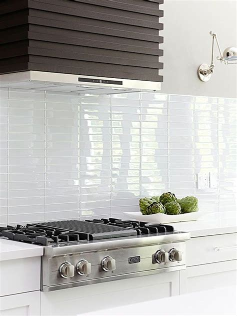stacked kitchen backsplash kitchen backsplash ideas modern white kitchens brick