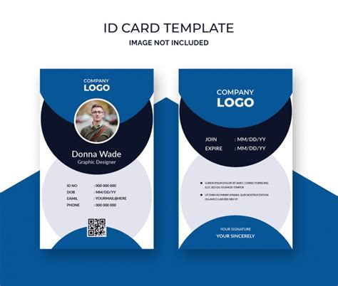 id cards  vectors stock  psd