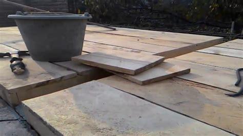 membuat papan  atap beton kamar mandi rumah