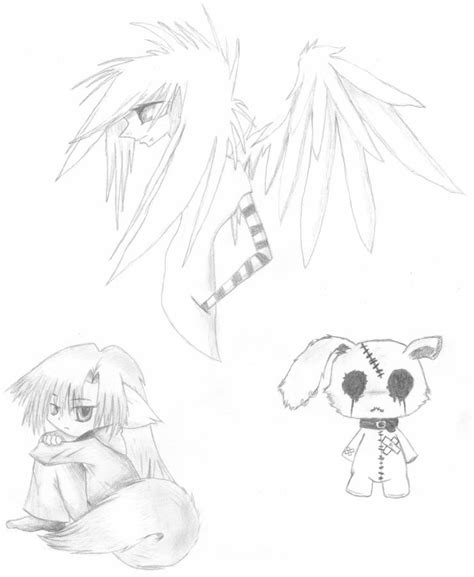 emo animals winged dude  virienna  deviantart
