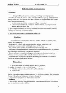 Exemple Rapport De Stage Au Bureau D39etude BTP