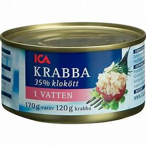 Krabba pris ica