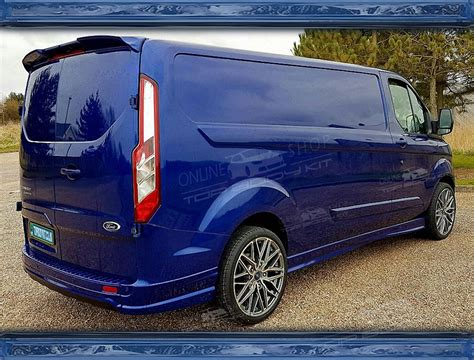 Shows us your transit customs mods you've done doing plus any old transits we love them all. Ford Transit Custom MK5 Roof Spoiler Barn Door Sport