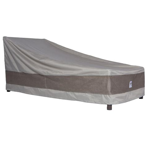 duck covers 80 in patio chaise lounge cover