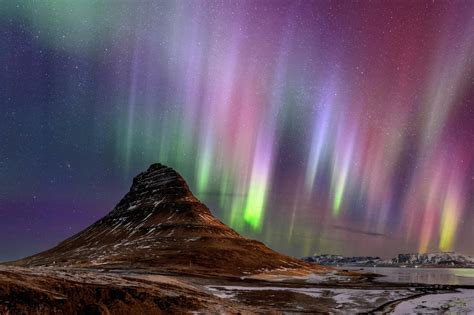 places    northern lights  southern