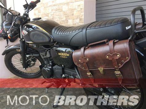 Kawasaki W175 Side Bag by Jual Side Bag Tas Motor Universal Kawasaki W175 Di Lapak