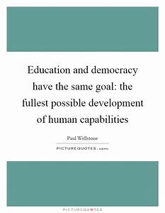 Education and d... Education Development Quotes