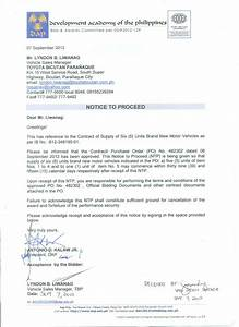 Bid Letter Template Rfp Award Letter Template Collection Letter Template