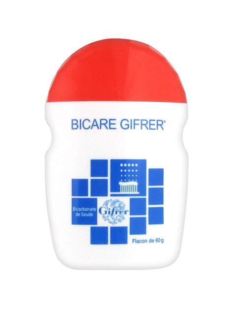 bicarbonate de soude prix gifrer bicare bicarbonate de soude 60 g acheter 224 prix bas ici