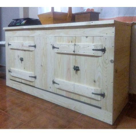 muebles de cocina madera materiales en las puertas por