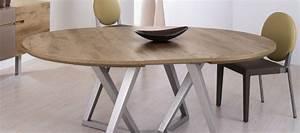 Table Ronde A Rallonges Design MR66 Jornalagora