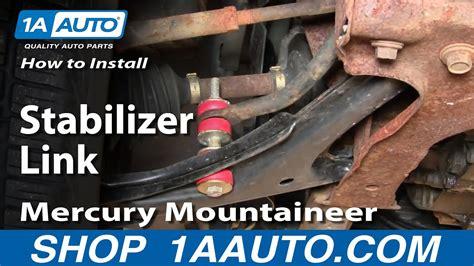 install stabilizer link chevy cavalier pontiac