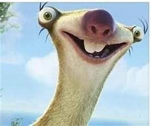 The Ice Age sloth | Ice Age | Pinterest