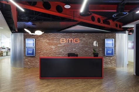 Bmg Nyc inside bmg s new headquarters in officelovin