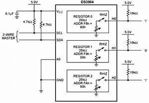 Digital Dip Switch Circuit Diagram
